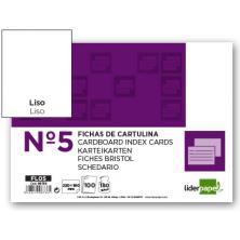 OfiElche-CLASIFICADORES-FICHAS CARTULINA Nº 5 LISO 160X220MM