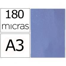 OfiElche-PLASTIFICACION Y ENCUADERNACION-TAPA DE CRISTAL PVC TRANSPARENTE DIN-A3 180 MICRAS
