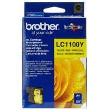 OfiElche-CONSUMIBLES ORIGINALES-CARTUCHO BROTHER LC1100 AMARILLO