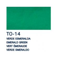 OfiElche-ROTULADORES TEXTILES-PINTURA PARA TELA VERDE ESMERALDA 35ML LA PAJARITA