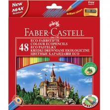 OfiElche-LAPICES DE COLORES-LAPICES FABER CASTELL CASTILLO 48 COLORES + SAC.