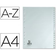OfiElche-INDICES Y SEPARADORES-SEPARADOR ALFABETICO A4 PLASTICO Q-CONNECT