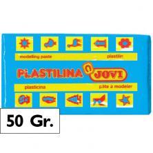 OfiElche-PLASTILINAS-PLASTILINA - 50GR. AZUL CLARO JOVI