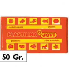 OfiElche-PLASTILINAS-PLASTILINA - 50GR. NARANJA JOVI