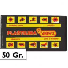 OfiElche-PLASTILINAS-PLASTILINA - 50GR. NEGRO JOVI