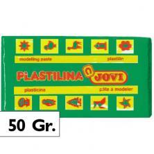OfiElche-PLASTILINAS-PLASTILINA - 50GR. VERDE CLARO JOVI