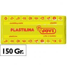 OfiElche-PLASTILINAS-PLASTILINA 150GR. AMARILLO OSCURO JOVI