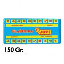 OfiElche-PLASTILINAS-PLASTILINA 150GR. AZUL CLARO JOVI