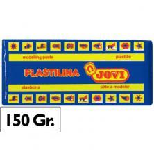 OfiElche-PLASTILINAS-PLASTILINA 150GR. AZUL OSCURO JOVI