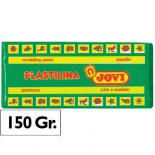OfiElche-PLASTILINAS-PLASTILINA 150GR. VERDE CLARO JOVI