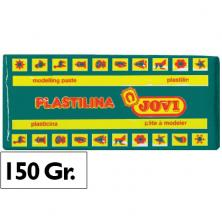 OfiElche-PLASTILINAS-PLASTILINA 150GR. VERDE OSCURO JOVI