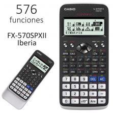 OfiElche-CALCULADORAS-CALCULADORA CASIO FX-570SPX II CIENTIFICA 576 FUN.