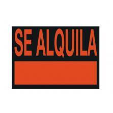 """OfiElche-CARTELES-CARTEL 25X35 """"SE ALQUILA"""" REMACHES"""