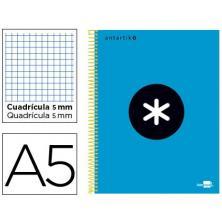 OfiElche-BLOCS Y CUADERNOS-CUADERNO ANTARTIK* A5 120H. CUAD.5x5 100GR. TD