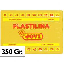 OfiElche-PLASTILINAS-PLASTILINA 350GR. AMARILLO OSCURO JOVI