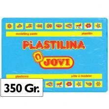OfiElche-PLASTILINAS-PLASTILINA 350GR. AZUL CLARO JOVI