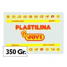 OfiElche-PLASTILINAS-PLASTILINA 350GR. BLANCO JOVI