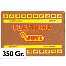 OfiElche-PLASTILINAS-PLASTILINA 350GR. MARRON JOVI