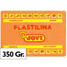 OfiElche-PLASTILINAS-PLASTILINA 350GR. NARANJA JOVI