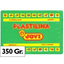 OfiElche-PLASTILINAS-PLASTILINA 350GR. VERDE CLARO JOVI