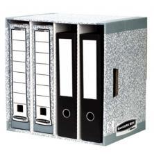 OfiElche-CLASIFICADORES-CLASIFICADOR PARA 4 ARCHIVADORES BANKERS BOX GRIS
