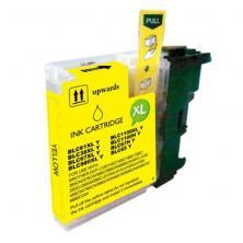 OfiElche-CONSUMIBLES COMPATIBLES-CARTUCHO COMP. BROTHER LC1100 / LC980 AMARILLO