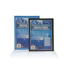 OfiElche-FUNDAS DOSSIER Y SOBRES DE PLASTICO-DOSSIER OFFICE BOX DOBLE PERSONALIZABLE P.P. A4 PO