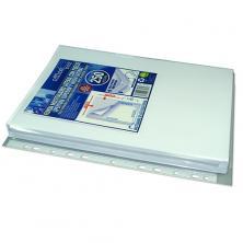OfiElche-FUNDAS DOSSIER Y SOBRES DE PLASTICO-FUNDA MULTITALADRO OFFICE BOX LATERAL CON FUELLE (